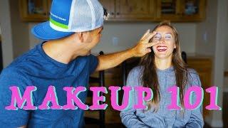 Makeup Tutorial - Groom does Bride's Makeup!!