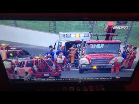 2017 Indianapolis 500 Qualifying- Sebastian Bourdais Crash
