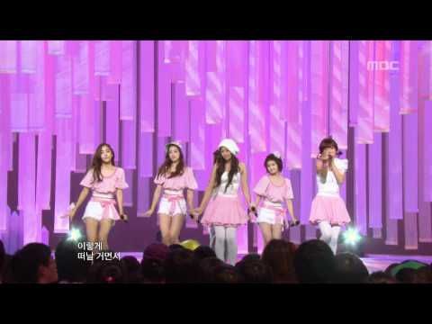 T-ara - Lie, 티아라 - 거짓말, Music Core 20090829