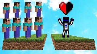 КАК ВЫЖИТЬ С ПОЛОВИНОЙ СЕРДЦА ПРОТИВ 8 ИГРОКОВ? - Minecraft Cake Wars