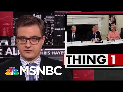 President Donald Trump Is Learning On The Job | All In | MSNBC