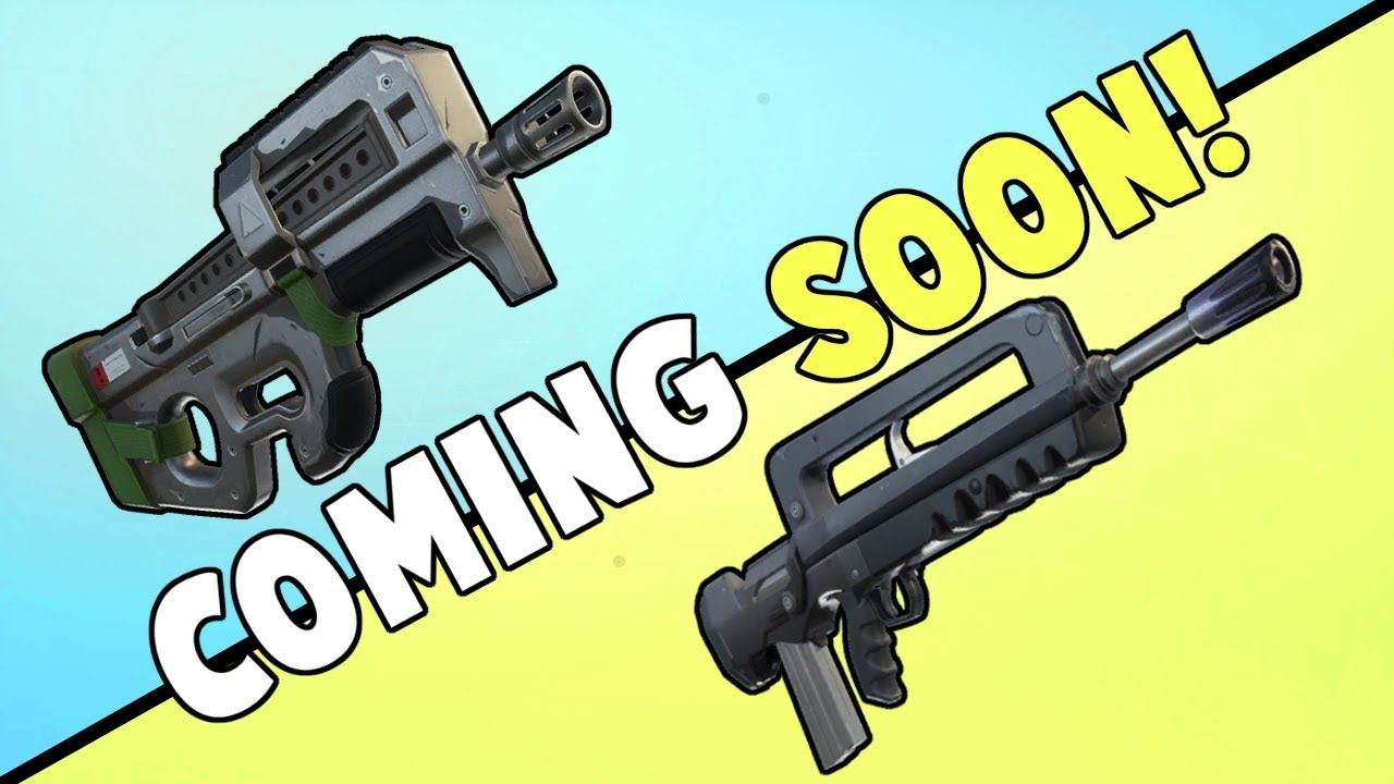 P90 Coming Tomorrow & FAMAS Coming Soon! | Fortnite Save ...