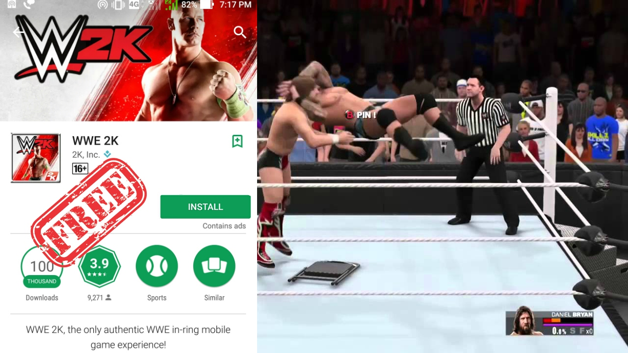 How To Download Install Wwe 2k Offline Mod On Android For Free Youtube