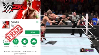 How To Download & Install WWE 2K Offline Mod On Android For Free