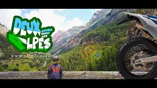 Deux jours dans les Alpes à moto - Voyage moto trail offroad