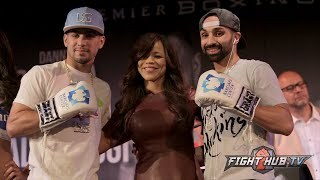 Danny Garcia vs. Paulie Malignaggi full video- Complete final press conference + face off