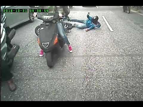 090558 民權東路往行天宮方向 機車 車禍 | WoWtchout