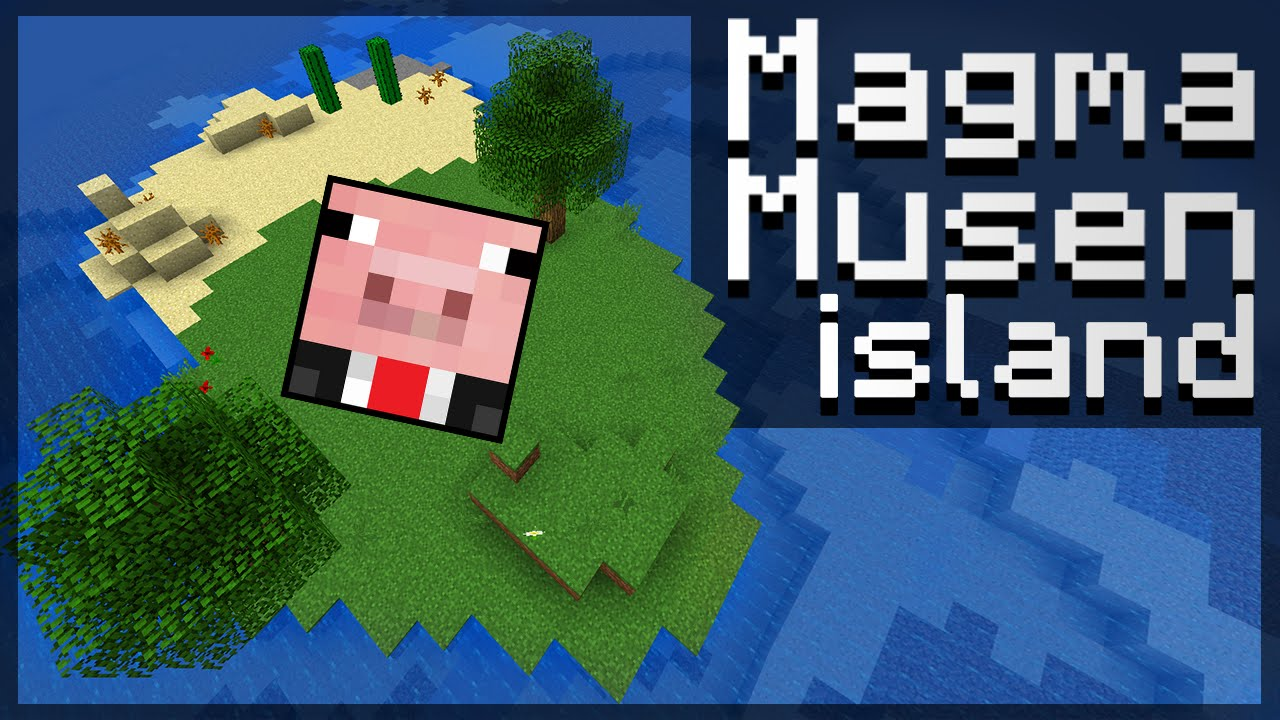 How to build magmamusen 39 s island minecraft tutorial for How to build a new home