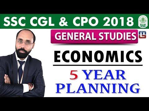 Economics | 5 Year of Planning | General Studies | SSC CGL | CPO 2018