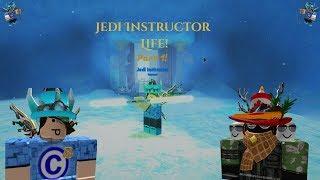 "Jedi Instructor life in Roblox   TJO life!   Part 1 ""Destroying da Siths"""