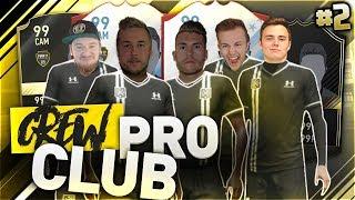 FIFA 17: CREW Pro Club #2 😂  Das komplette CHAOS 🙈