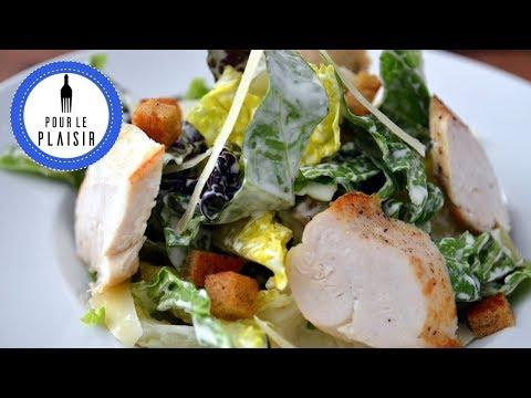 Caesar Salat - Caesar Dressing mit Mayonnaise ohne Ei / Thomas kocht