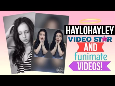 Halohayley best edits on Musical ly || Funimate
