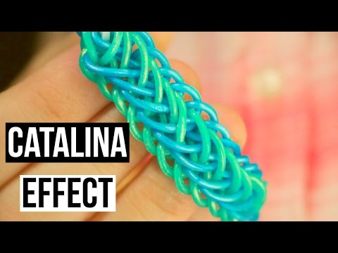Catalina Effect Bracelet | Rainbow Loom Tutorial | One Loom