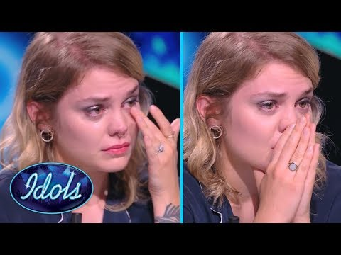 MOST EMOTIONAL AUDITION EVER! Judge Breaks Down After Contestant Sings Her Song | Idols Global