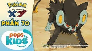 Tổng Hợp Hành Trình Thu Phục Pokémon Của Satoshi - Hoạt Hình Pokémon Tiếng Việt S18 XY - Phần 70