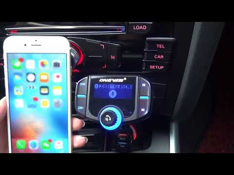 Onever QC3.0 Bluetooth Car Kit FM Transmitter