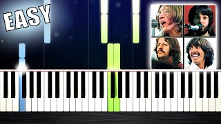 Baixar The Beatles - Let It Be - EASY Piano Tutorial by PlutaX