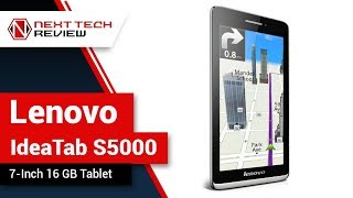 Lenovo IdeaTab S5000 7 Inch 16 GB Tablet Product Review  – NTR