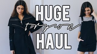 HUGE COLLECTIVE TRY-ON HAUL | LEE, TOPSHOP & MORE | Elesa Anthony