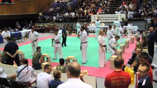 All American Open 2015 Kyokushnin Karate Tameshiwari 3