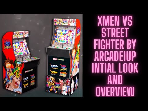 First Look at X Men vs Street Fighter by Arcade1up from Ur Average Gamer