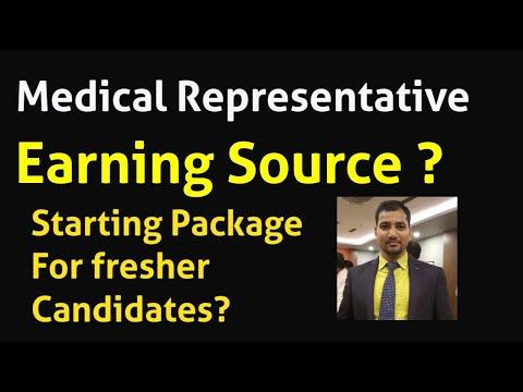 Medical Representative MR Earnings, Salary, Incentives Etc