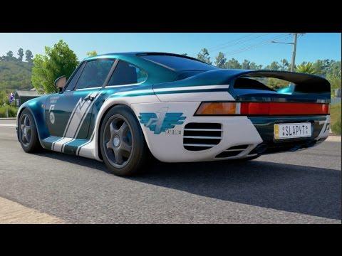 Forza Horizon 3 Porsche 959 ONLINE Adventure - I SEE 1st PLACE!!!
