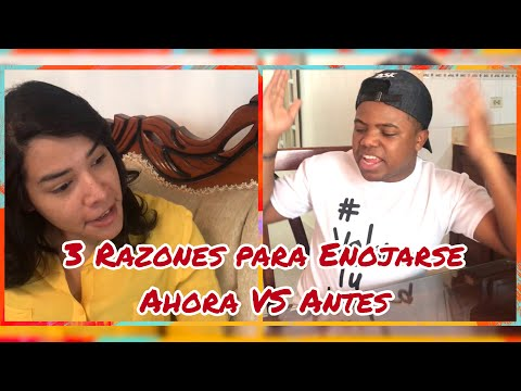 3 Razones Para Enojarse - Antes VS Ahora - Felix J Aquino