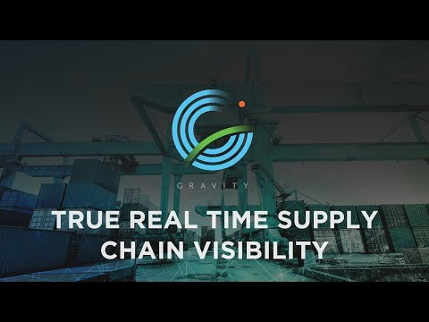 Gravity Supply Chain - Real-Time Supply Chain Visibility