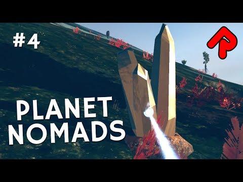 Finding Gold, Titanium & Uranium | Let's play Planet Nomads gameplay ep 4