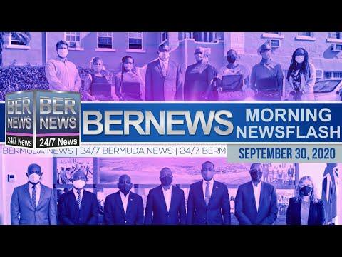 Bermuda Newsflash For Wednesday, Sept 30, 2020