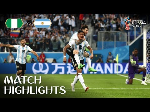 Nigeria v Argentina - 2018 FIFA World Cup Russia鈩� - Match 39