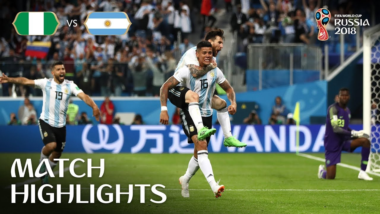 5a219935dcc 2018 FIFA World Cup Russia™ - News - Rojo returns to haunt Nigeria as  Argentina progress - FIFA.com
