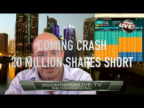 Vieira's Live Trading Chesapeake Energy Crash Short 20 Million Shares