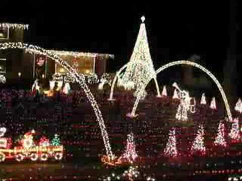 christmas light show murfreesboro tennessee carol of the bells