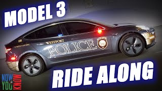 Tesla Police Car Ride Along! | In Depth