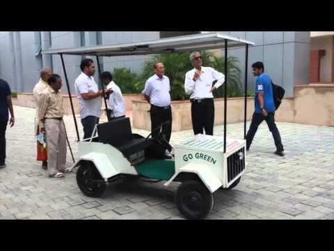 Solar Powered Vehicle by Tushar Srivastava