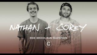 bmx corey martinez nathan williams at brook run skatepark
