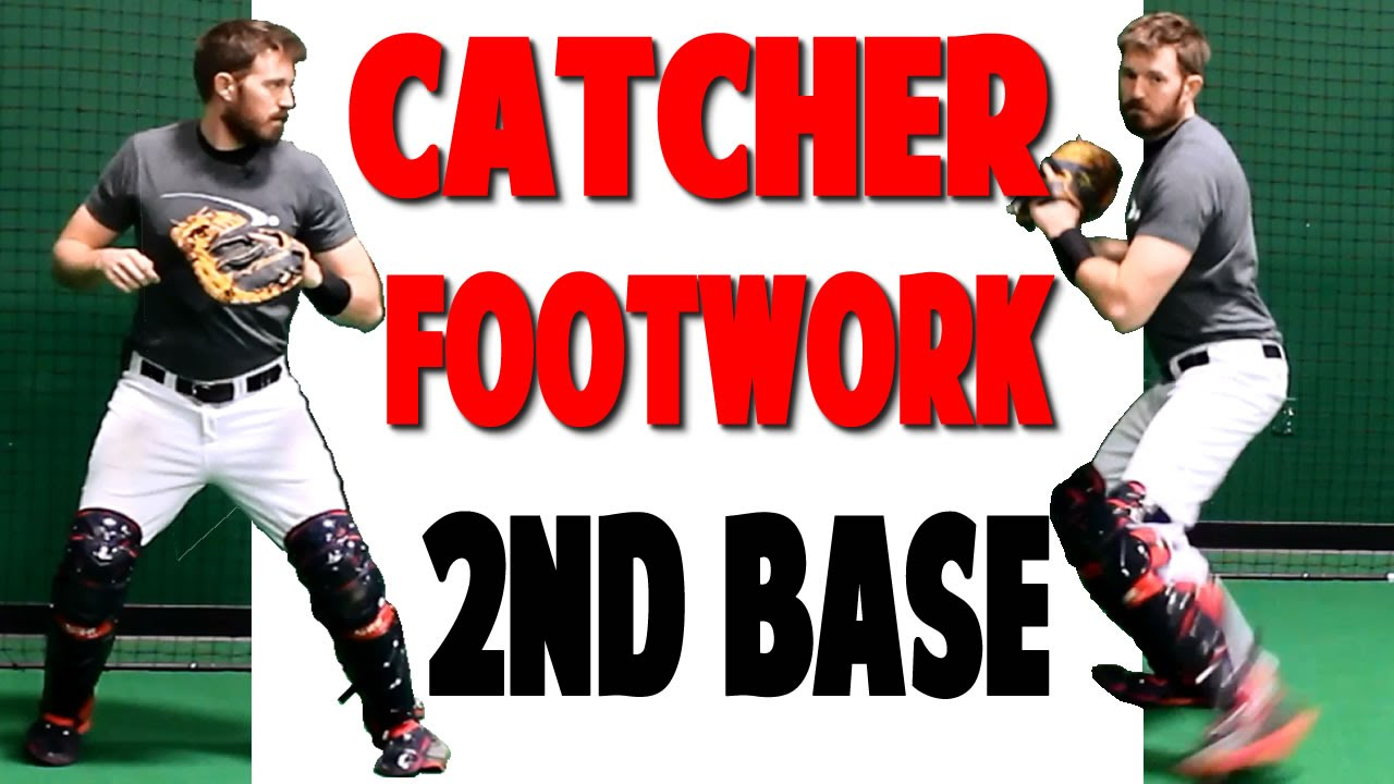 catcher footwork throwing to second pro speed baseball funnydog tv. Black Bedroom Furniture Sets. Home Design Ideas