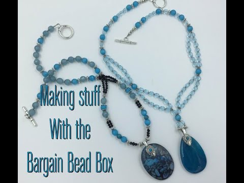 Making Stuff with the April Bargain Bead Box