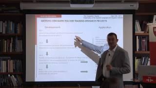 Instituto Cervantes at Harvard University TEACHING FOREIGN LANGUAGES WORKSHOP. RICHARD BUENO