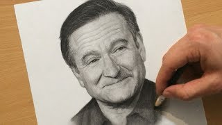 robin williams drawing lesson
