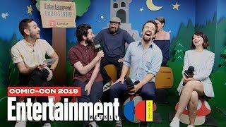 'DuckTales' Stars Lin-Manuel Miranda, Ben Schwartz & Cast | SDCC 2019 | Entertainment Weekly