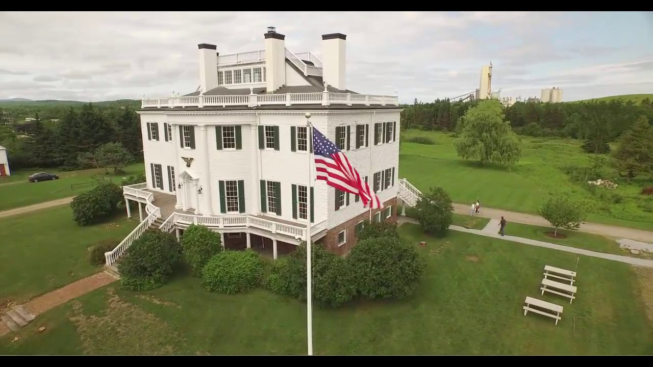 View picture of general henry knox museum montpelier thomaston - Knox Museum Montpelier Flyby