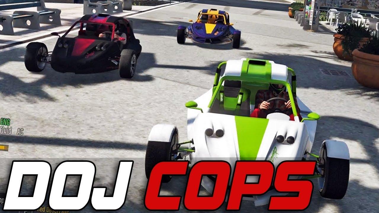 Dept  of Justice Cops #263 - Raptor Races (Criminal)