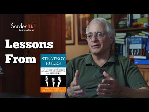 What is the most important lesson to be learned from Strategy Rules? by Michael Cusumano