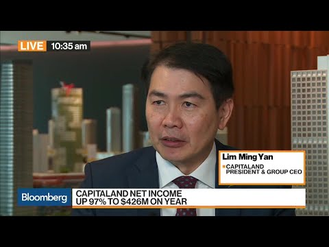 CapitaLand's Lim on China, Singapore Housing Market