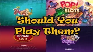 MyVegas slots and MyVegas Rewards, Should You Play Them?