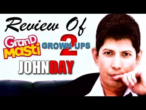 The zoOm Review Show - Grand Masti, John Day, Grown Ups 2 : Online Movie Review Travel Video